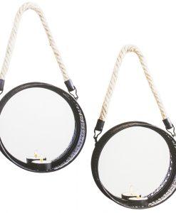 lampett med spegel