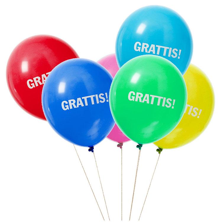 grattis Ballonger,