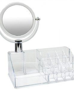 smyckeställ med spegel